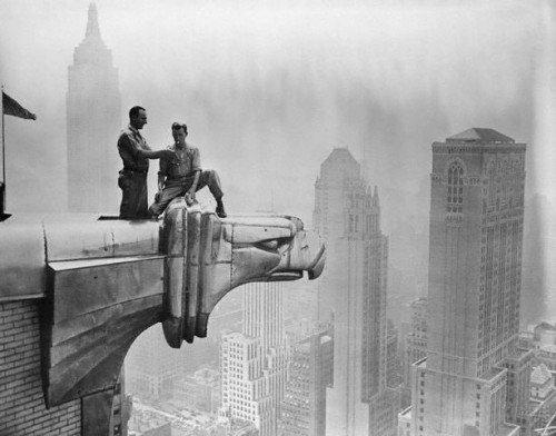 Decoarchitecture Gargoyle Chrysler Building Nyc New