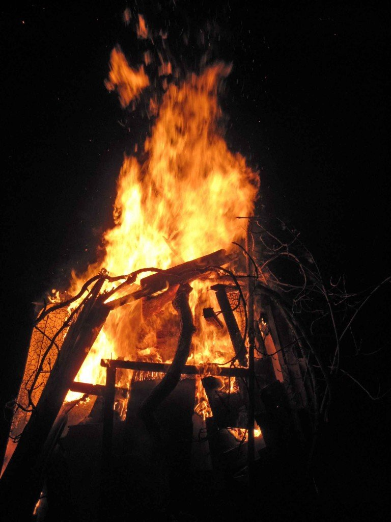 A Bonfire in Yorkshire